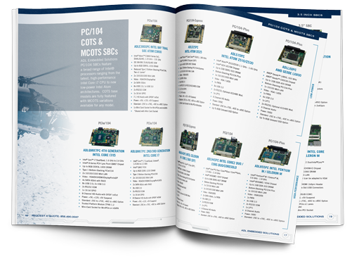 ADL Embedded Solutions Embedded System Product Guide